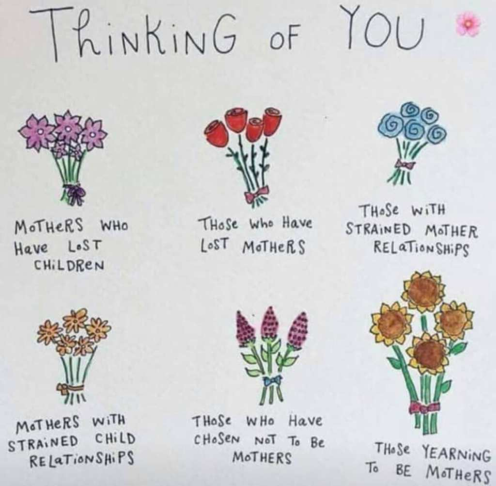 Happy Mother's Day to all types of moms