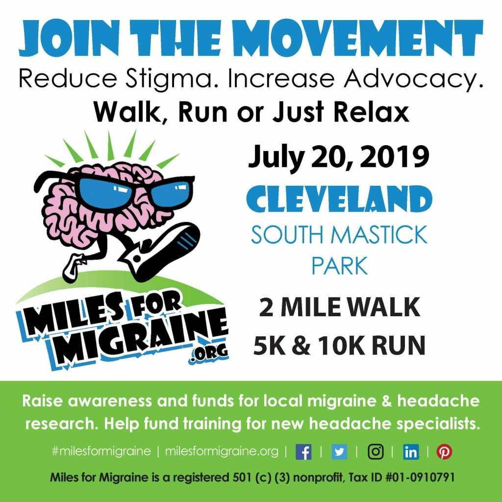 Miles for Migraine 2019