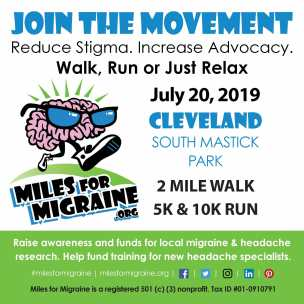 Join the Movement Miles for Migraine 2019