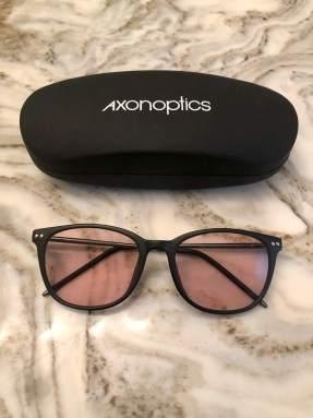 Axon Optics indoor glasses for light sensitivity