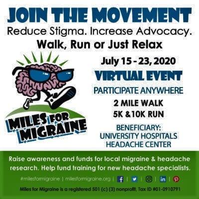 miles for migraine 2020