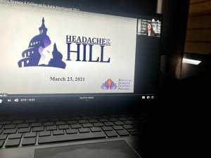 headache on the hill Alliance for Headache Disorders Advocacy