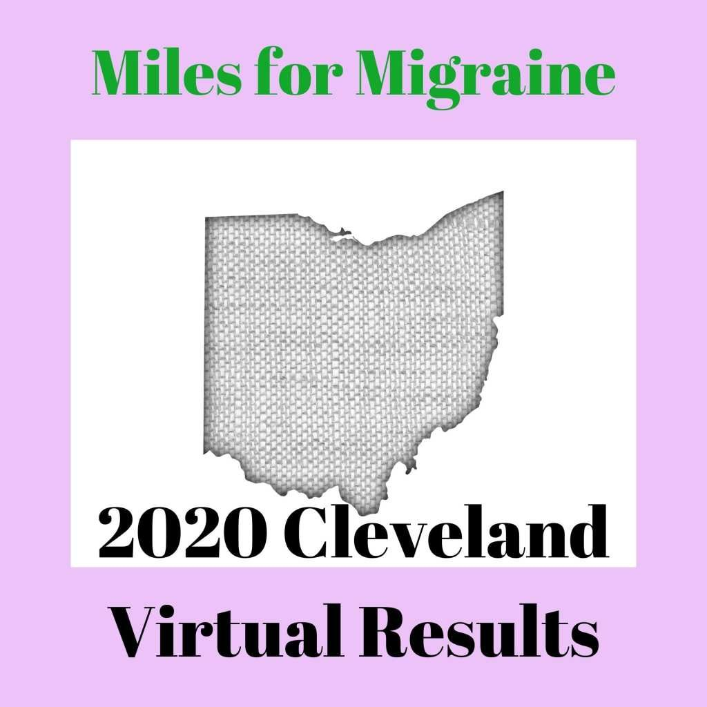 Miles for Migraine Cleveland Results 2020