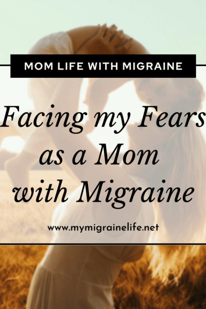 mom with migraine