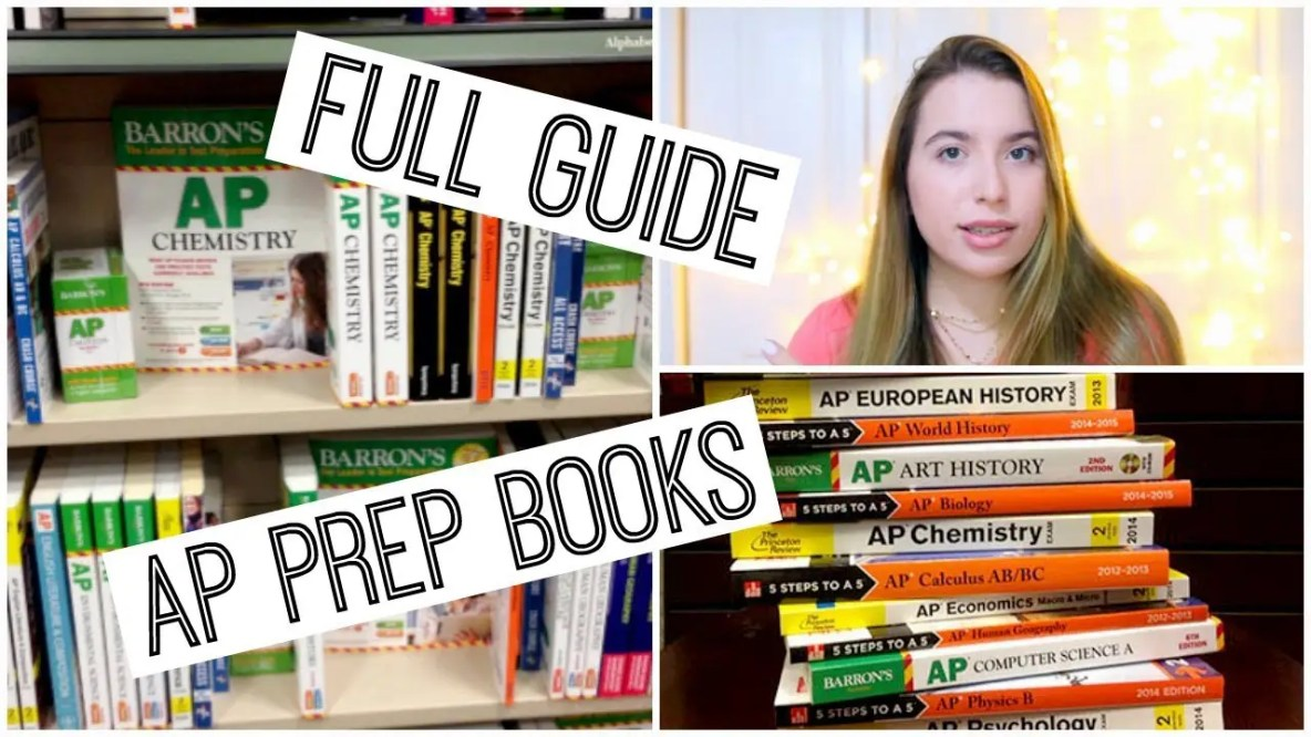 AP Books: Best AP Review Books for 2018-2019 School Year