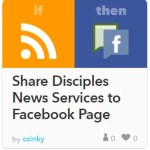 Share DNS to Facebook Page recipe