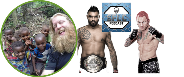 Justin Wren, Liam McGeary, and Chris Leben