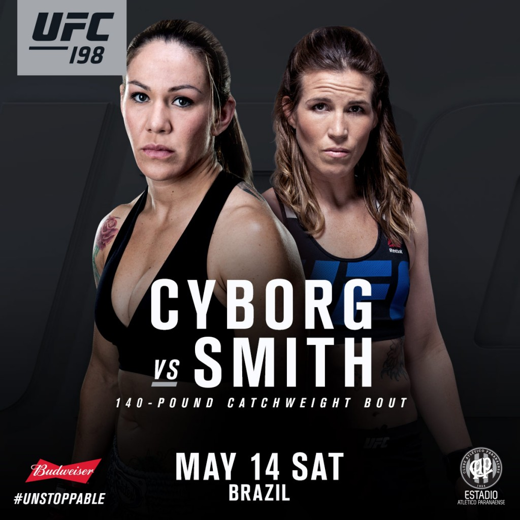 UFC 198 - Cyborg vs Leslie Smith