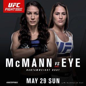 Sara McMann vs Jessica Eye