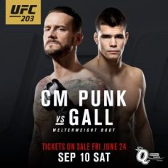 Mickey Gall vs CM Punk