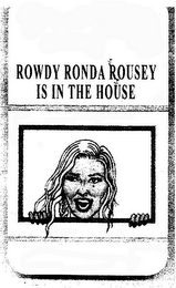 Ronda Rousey trademark application