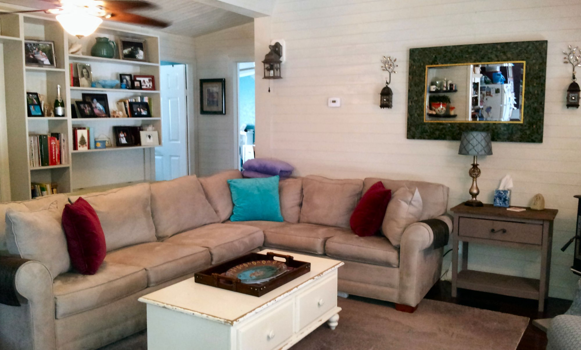 Mobile Home Living Room Remodel The Finale  My Mobile Home Makeover