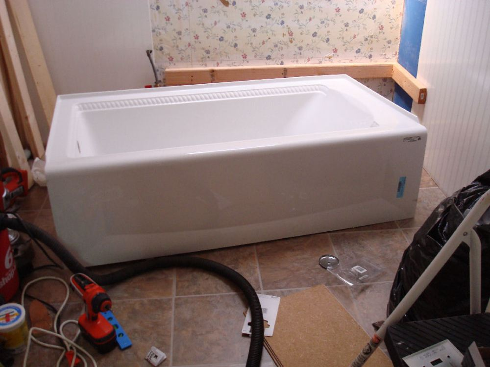 medium resolution of rope edged bathtub