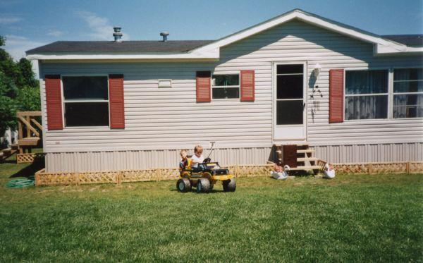 mobile home estate garden