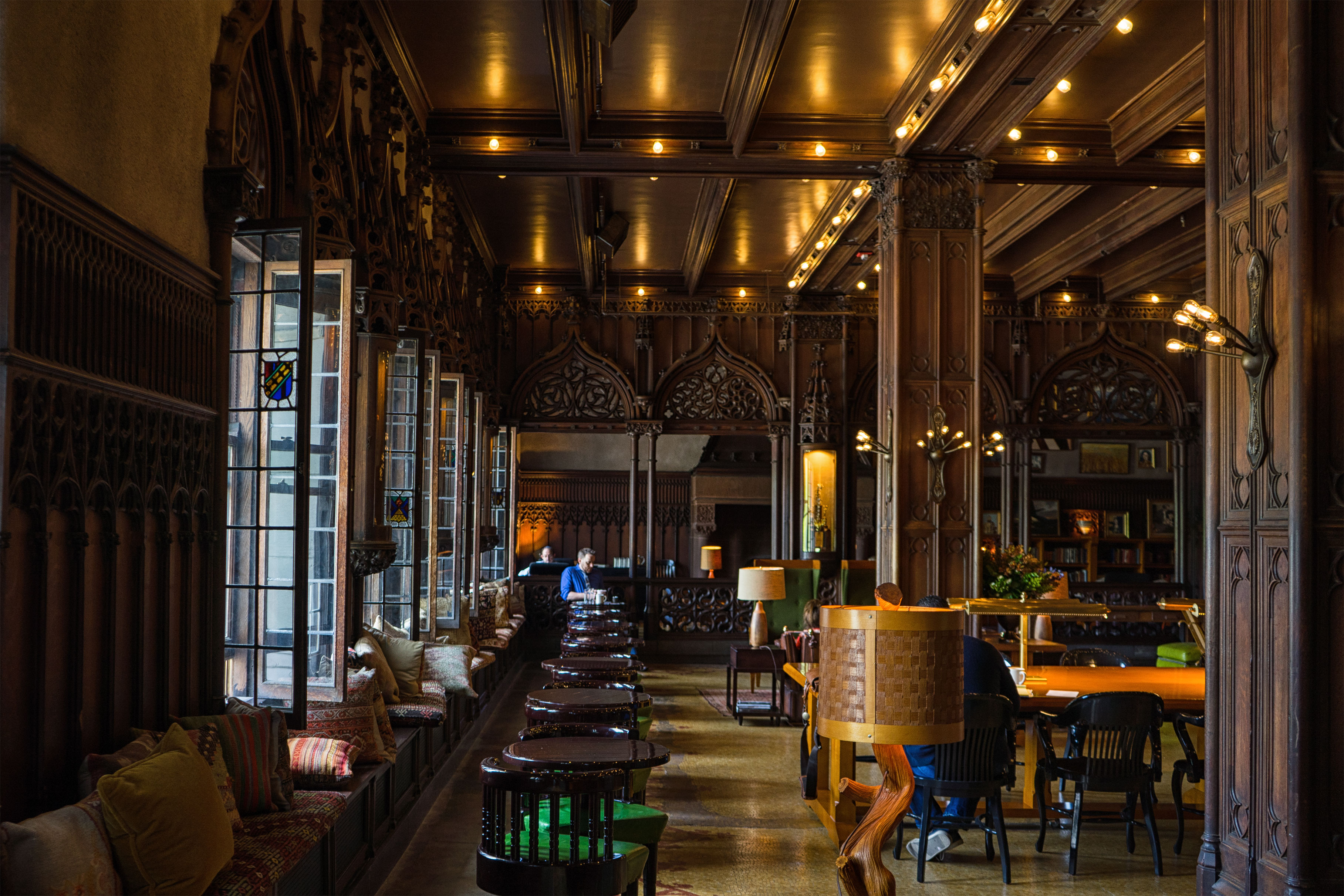 Chicago Athletic Association Hotel Lobby Interiors