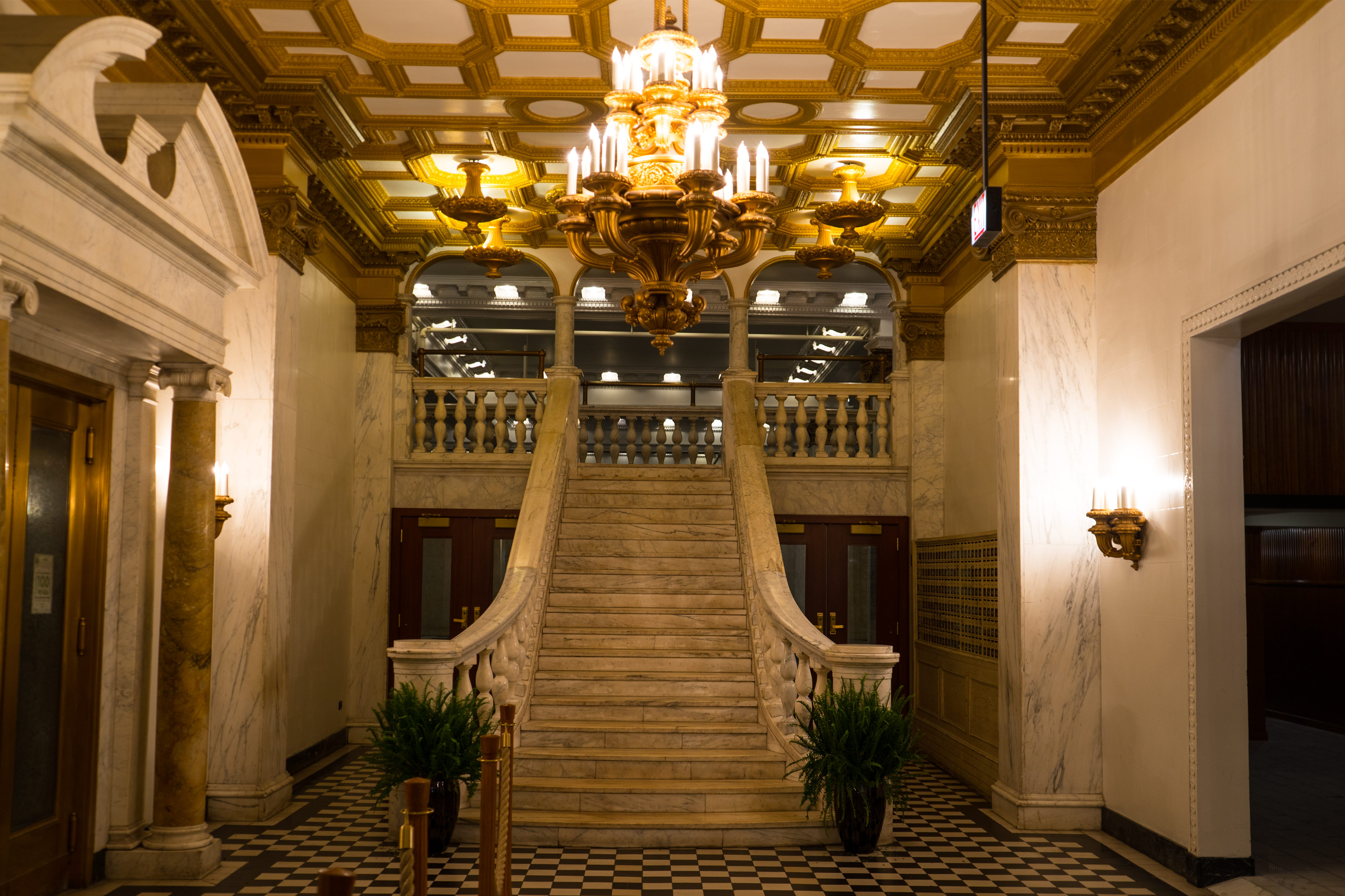 Chicago Athletic Association Hotel Staircase