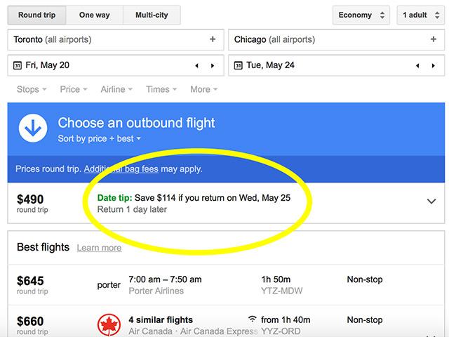 Google Flights Screenshot2