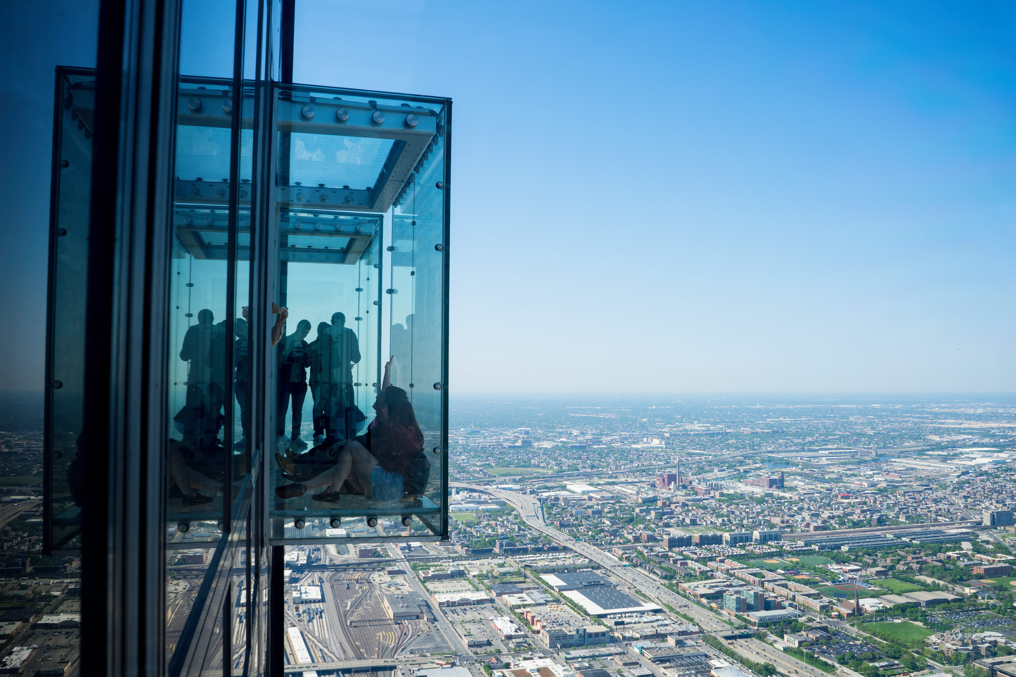 Chicago Willis Tower The Edge