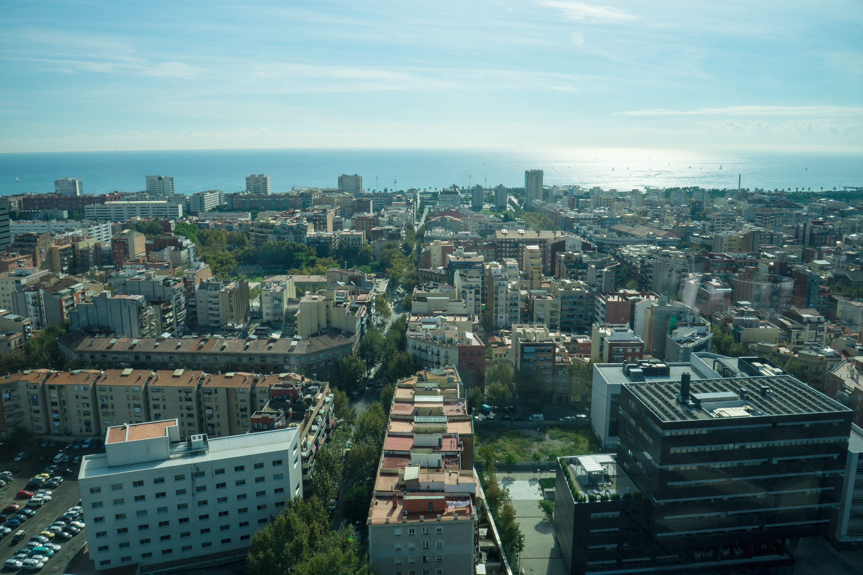 Level Melia Barcelona Sky View From The Terrace