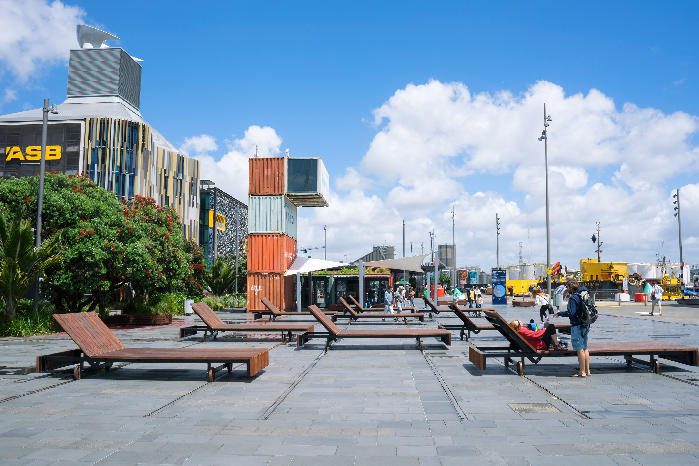 Auckland Wynyard Quarter Lounge Chairs