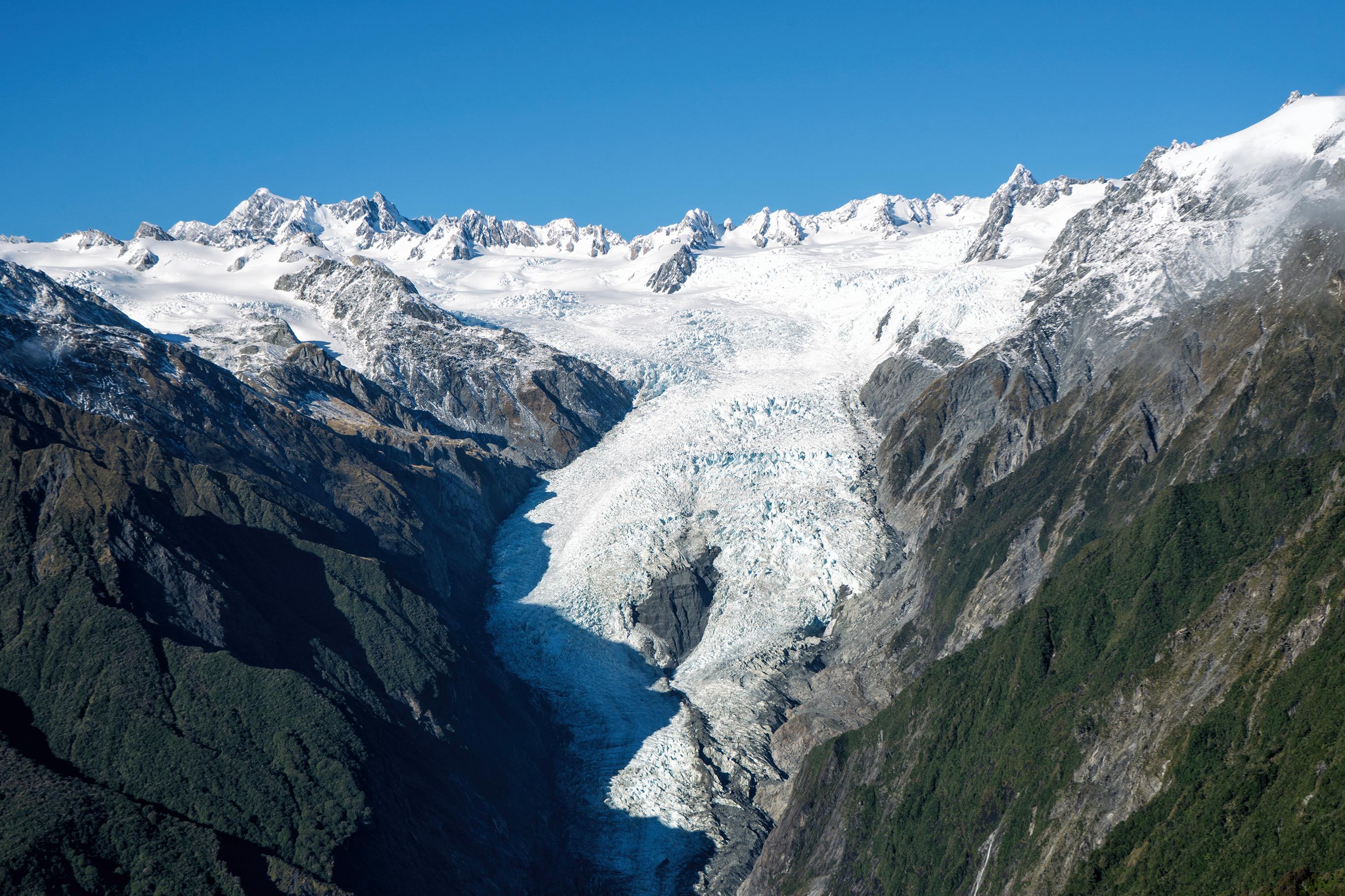 Franz Josef Glacier Alex Knob Track View Of Glacier And Southern Alps