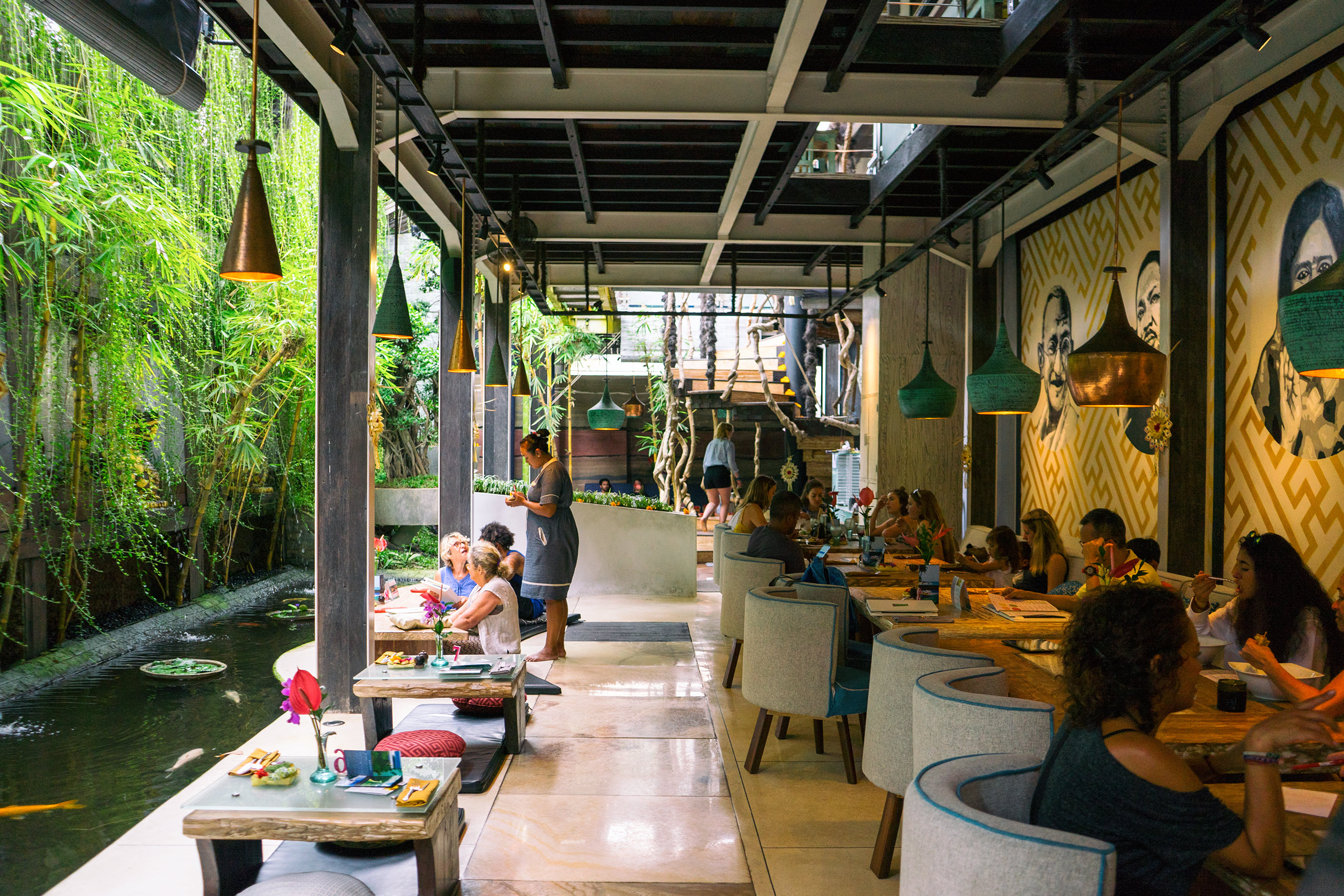 Bali Ubud Clear Cafe First Floor Interiors