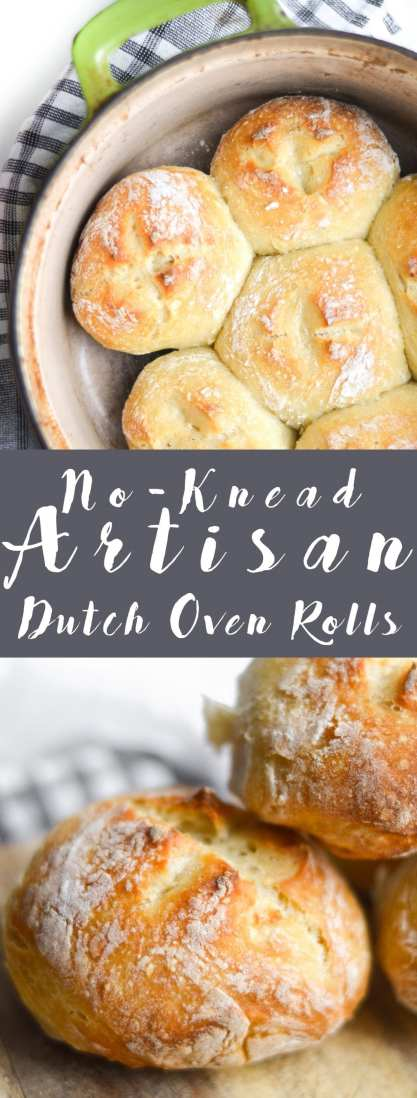 No-Knead Artisan Rolls