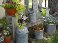 My Little Shabby Chic Garden Spot - My Modern Country