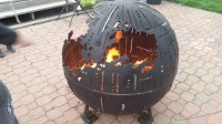 Star Wars Inspired Death Star Fire Pits Are Handcrafted ...