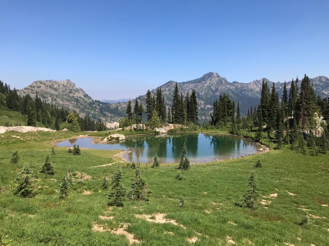 Naches Peak Loop Mt Rainier National Park