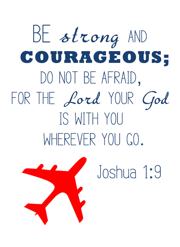 Strong and Courageous Joshua 1 9