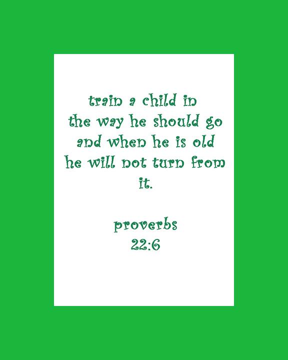 Train a child
