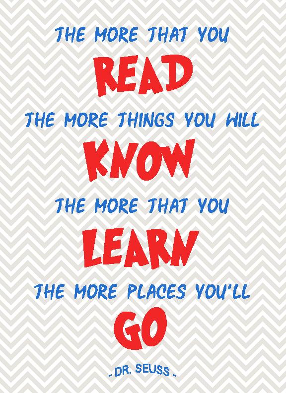 More you read Seuss