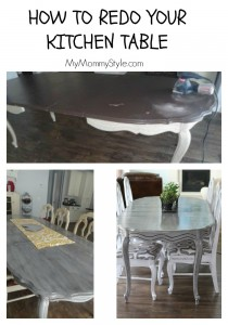 how to redo your kitchen table, DIY, mymommystyle.com