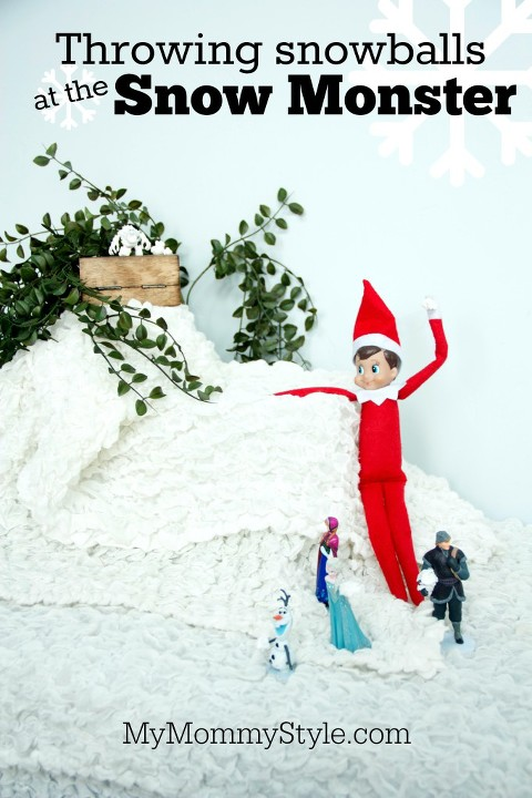 Elf On The Shelf Frozen Attack The Snow Monster My