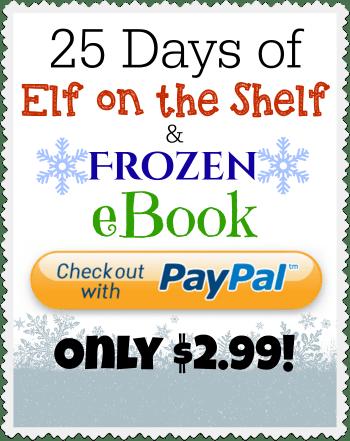 Frozen + Elf on the Shelf eBook Payment Button