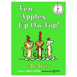 books 10 apples