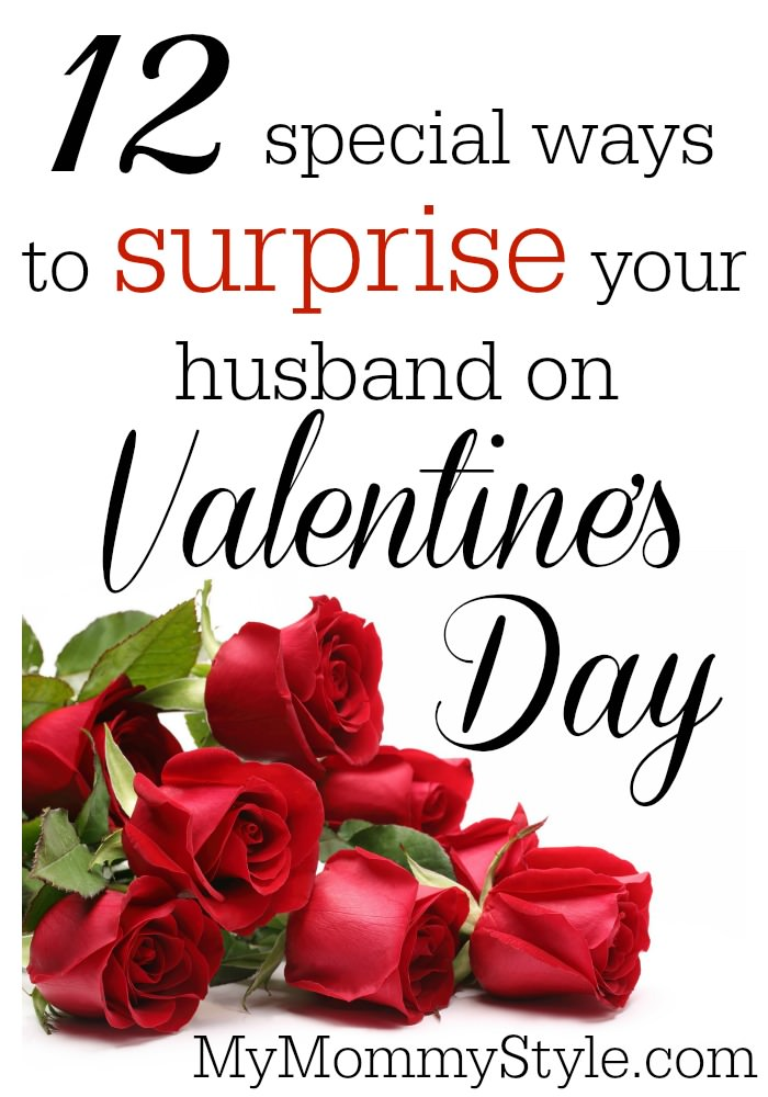 12 Special Ways To Surprise Your Husband On Valentines