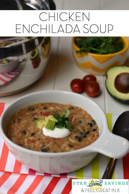 49 mexican recipes chicken-Enchilada-soup