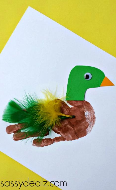 hands duck