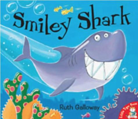 """Shark Books for Kids """"Smiley Shark"""""""