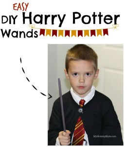 wood wands, make your own harry potter wands, harry potter, diy, wand making, mymommystyle