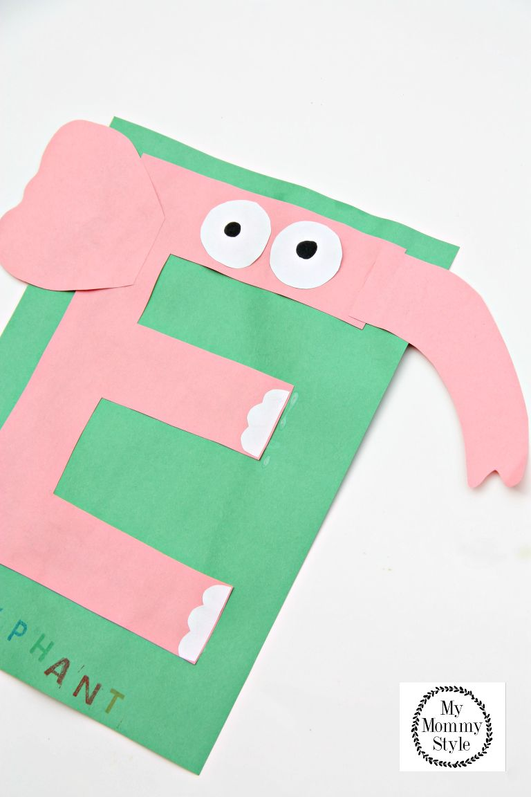 Letter Of The Day E Is For Elephant My Mommy Style