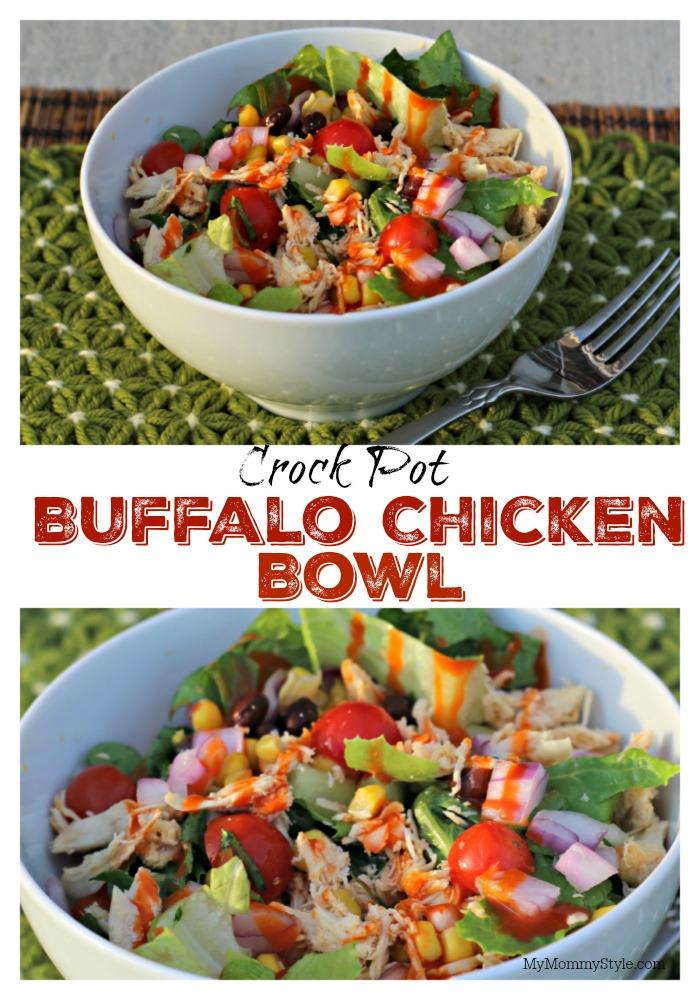 Crock Pot Buffalo Chicken Bowls My Mommy Style