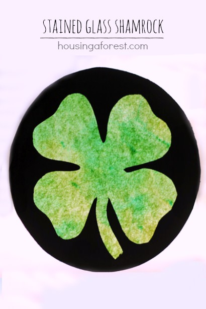 Stained-Glass-Shamrock