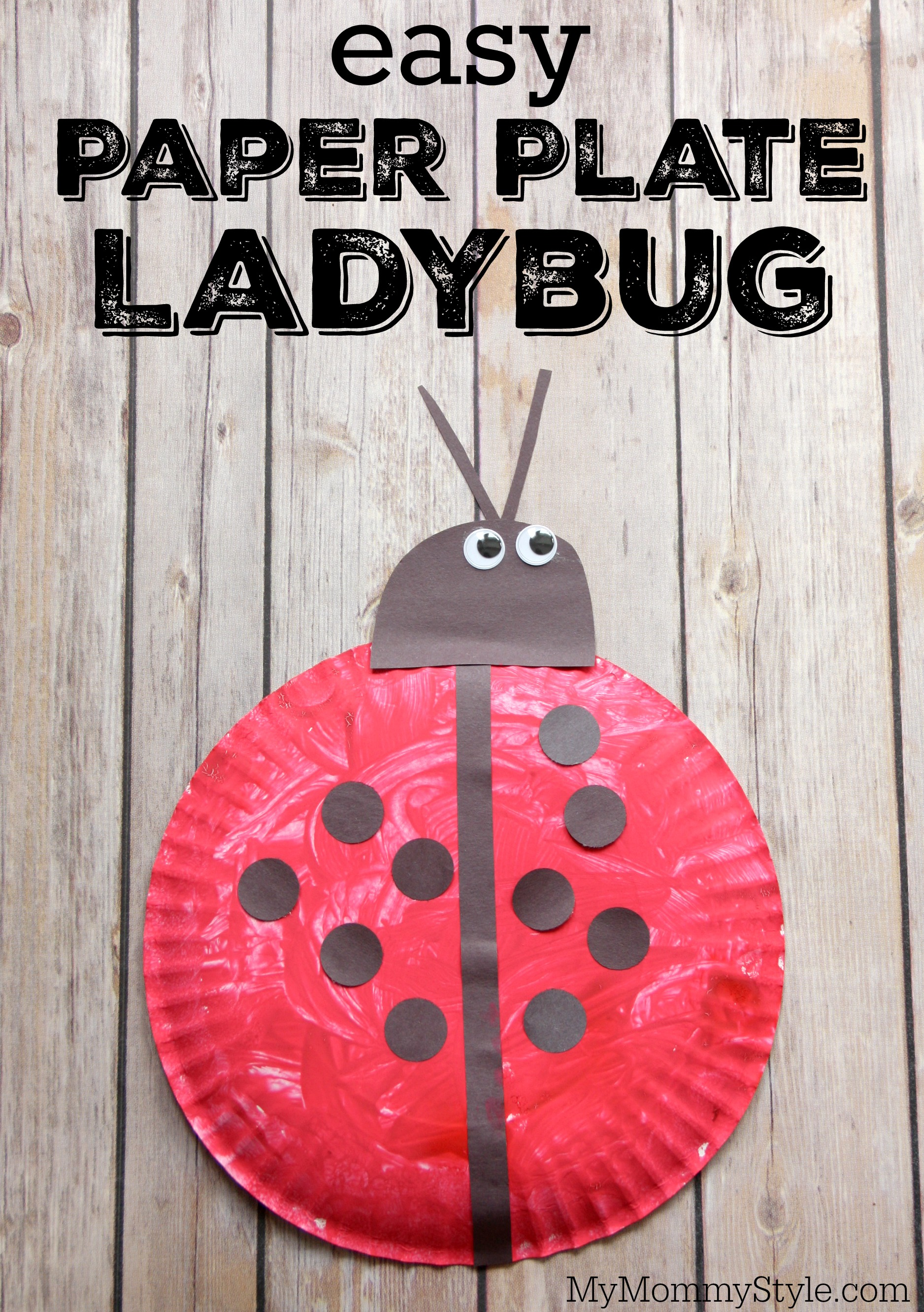 Ladybug Paper Plate Amp Lhow To Make A Lovable Paper Plate