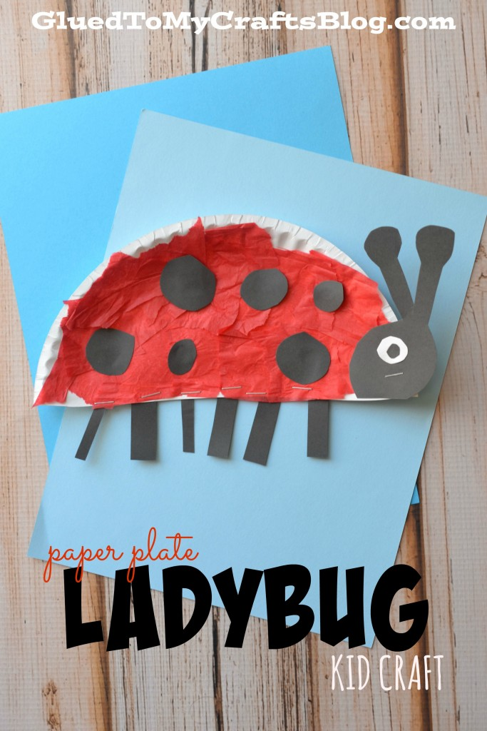 paper plate ladybug craft for preschoolers