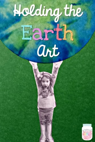 holding the Earth art