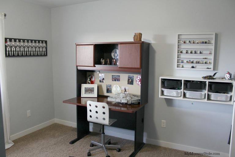 Tiny Box Room Ikea Stuva Loft Bed Making The Most Of: Shared Star Wars Room