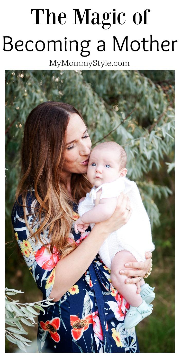 becoming a mother, motherhood, newborn